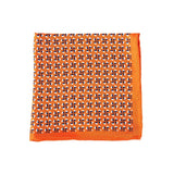 Orange Fans Pocket Square + SquareGuard