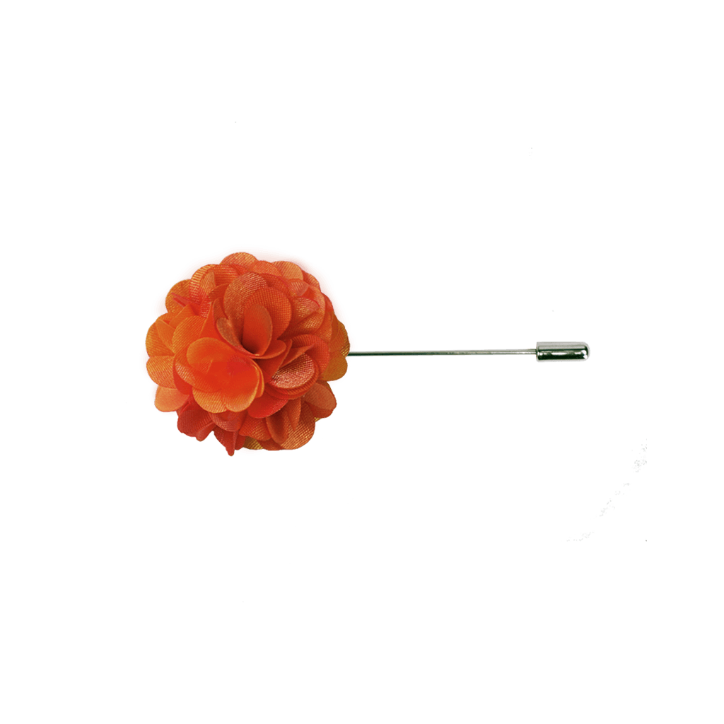 Orange Sunset Lapel Pin