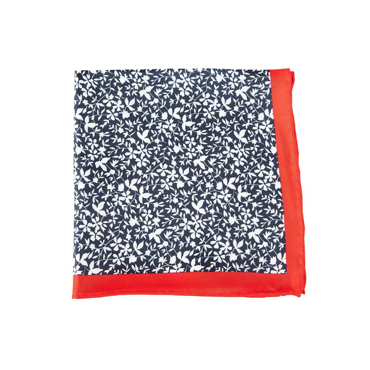 Red Papyrus Pocket Square