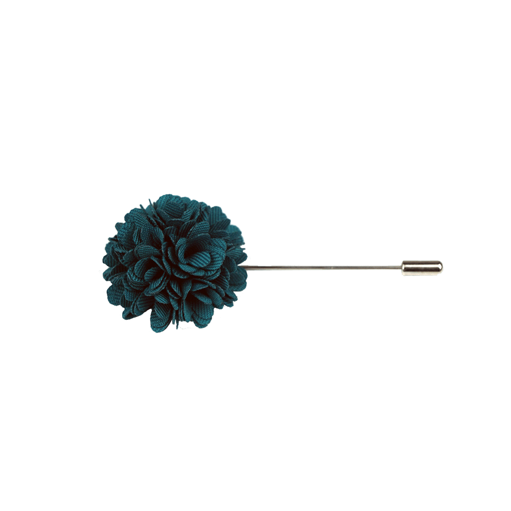Lapel Pin (Turquoise Textured)
