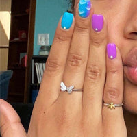 Butterfly Ring (US Size 4-9)