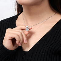 Perfume Necklace -925 Sterling Silver