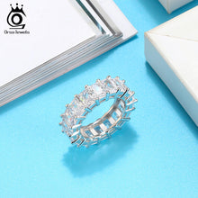 Load image into Gallery viewer, Hyperbole Big Zircon Shining Women Engagement Party Genuine 925 Rings Ring