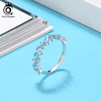 925 Sterling Silver Stackable Eternity Ring