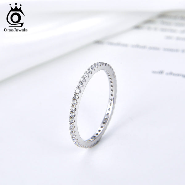 925 Sterling Silver Wedding Band Ring