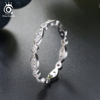 925 Sterling Silver Round Brilliant Eternity Ring