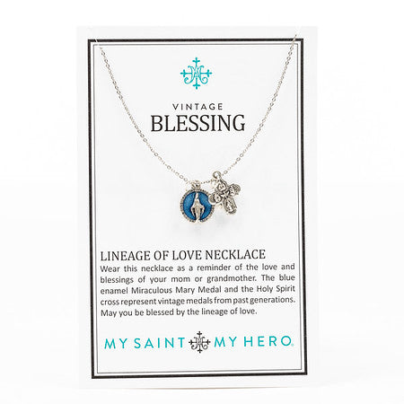 Vintage Blessing Necklace
