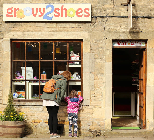 Groovy2Shoes | Children's Shoe Shop | Shoe Fitting Service | Stow-on-the-Wold, Gloucestershire