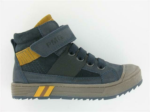 Primigi Boys Boot in Blue And Yellow