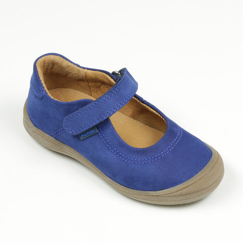 Richter Mary Jane Styled Shoe in Cobalt Blue