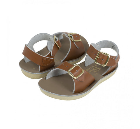 Salt Water Sun San Surfer Sandal in Tan