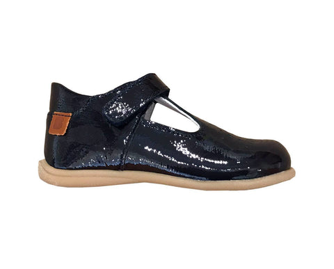 Bo-Bell Toto First Shoe in Navy Patent