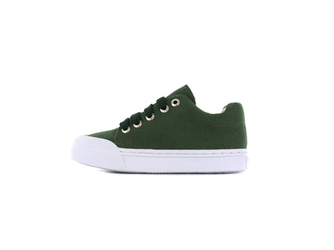 Shoesme Go Bananas Unisex Canvas Shoe in Green