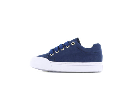 Shoesme Go Bananas Unisex Canvas Shoe in Blue