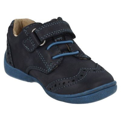 Start-rite Supersoft Hugo Boys Shoe in Blue