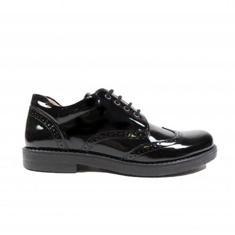 Petasil Mara Girls School Shoe in Patent Leathers