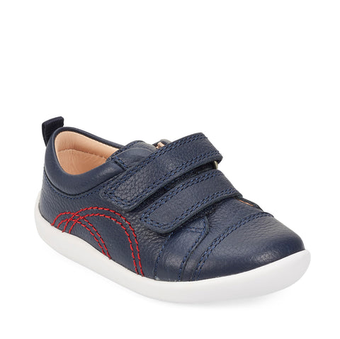 Start-rite Treehouse Navy Shoe