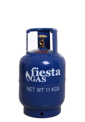 Fiesta Gas 11-kg Pol Valve LPG Cylinder - Metro Gas Tawag Delivery