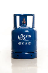 Fiesta Gas 5-kg Mini Valve LPG Contents - Metro Gas Tawag Delivery