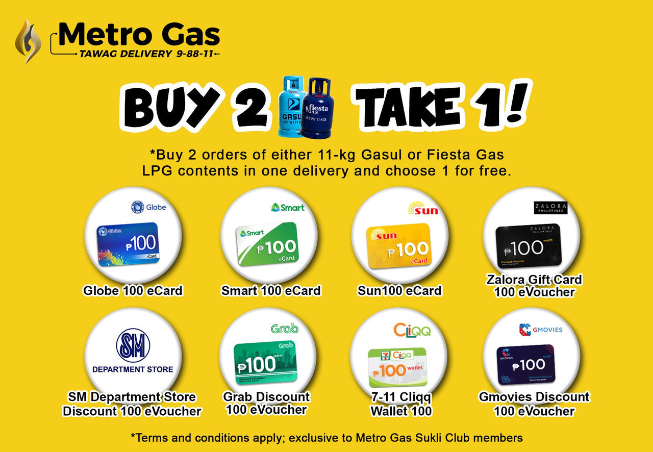 Metro Gas Tawag Delivery