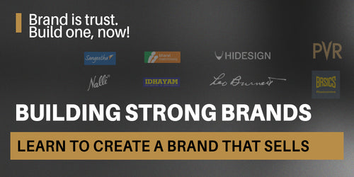 Building Strong Brands - Learn how to build a brand that sells!