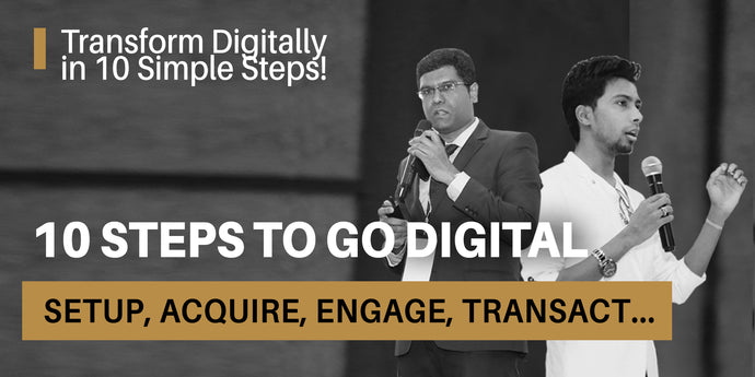 10 Steps to Go Digital