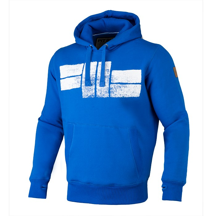 Classic Logo Hooded Royal Blue