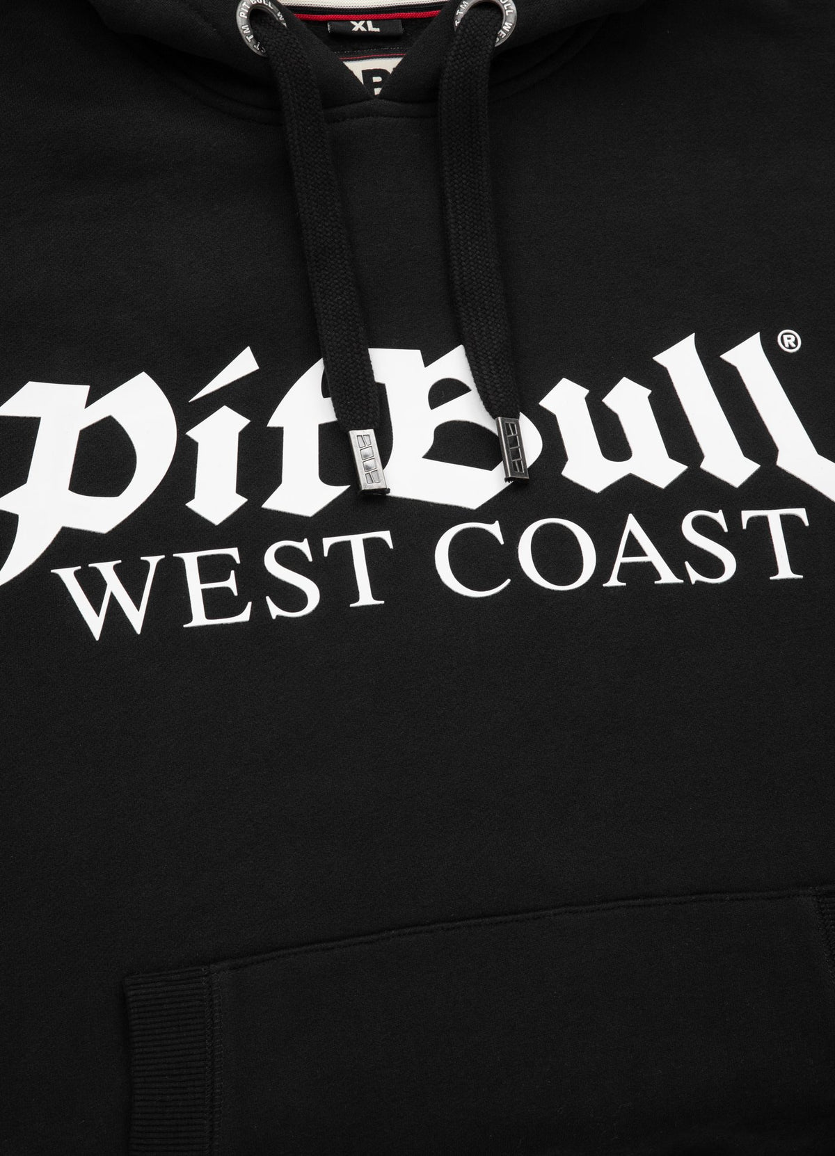 OLD LOGO 2020 HOODIE BLACK - Pitbull West Coast U.S.A.