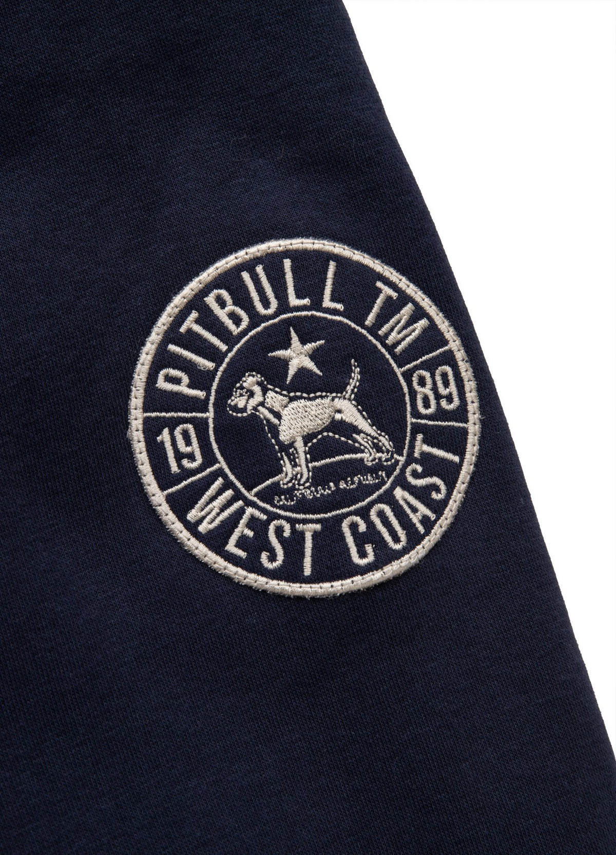 Hooded Sweatjacket SHERPA RUFFIN Dark Navy - Pitbull West Coast U.S.A.