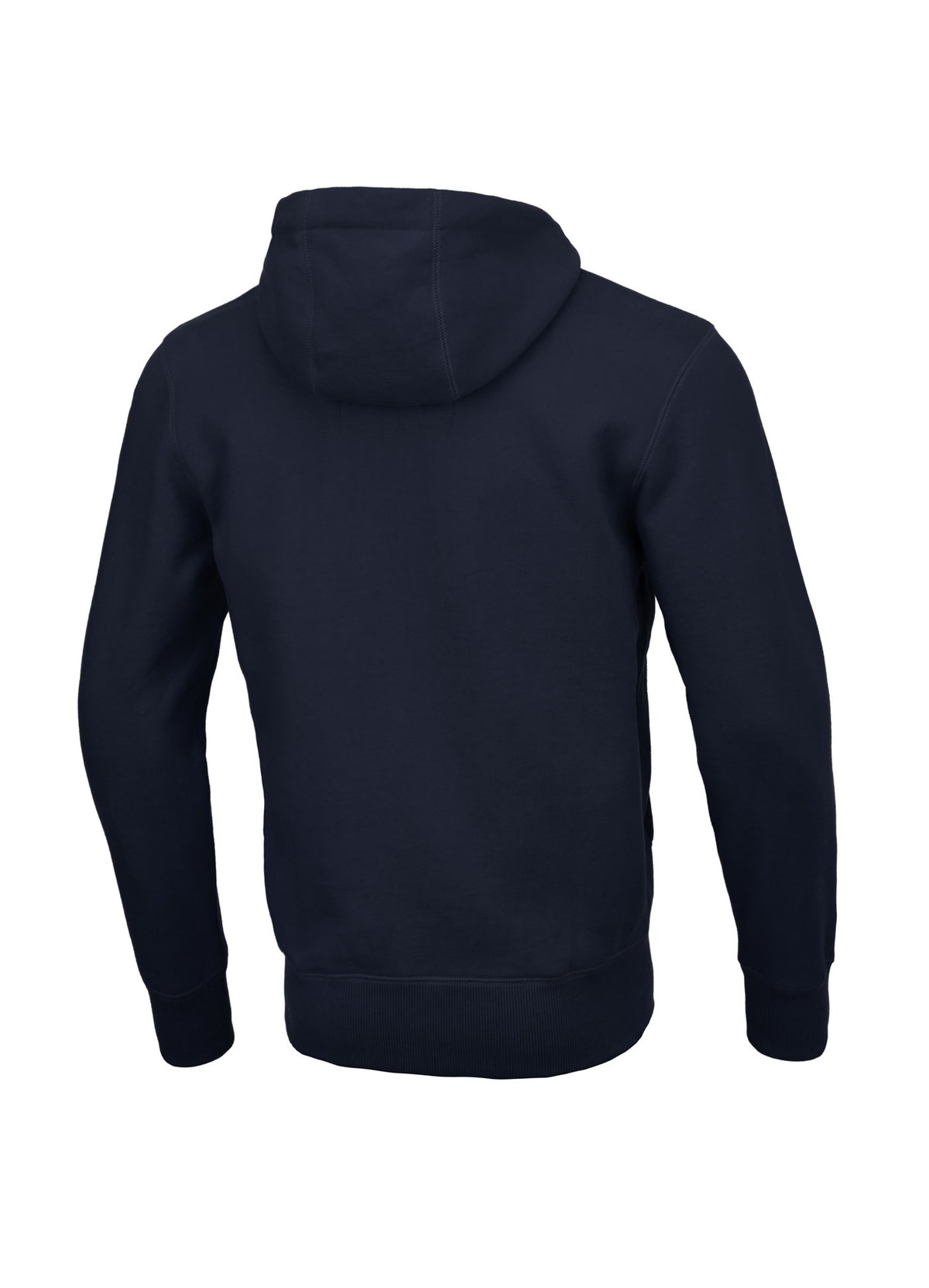 Hooded Zipped Sweatshirt SMALL LOGO Dark Navy