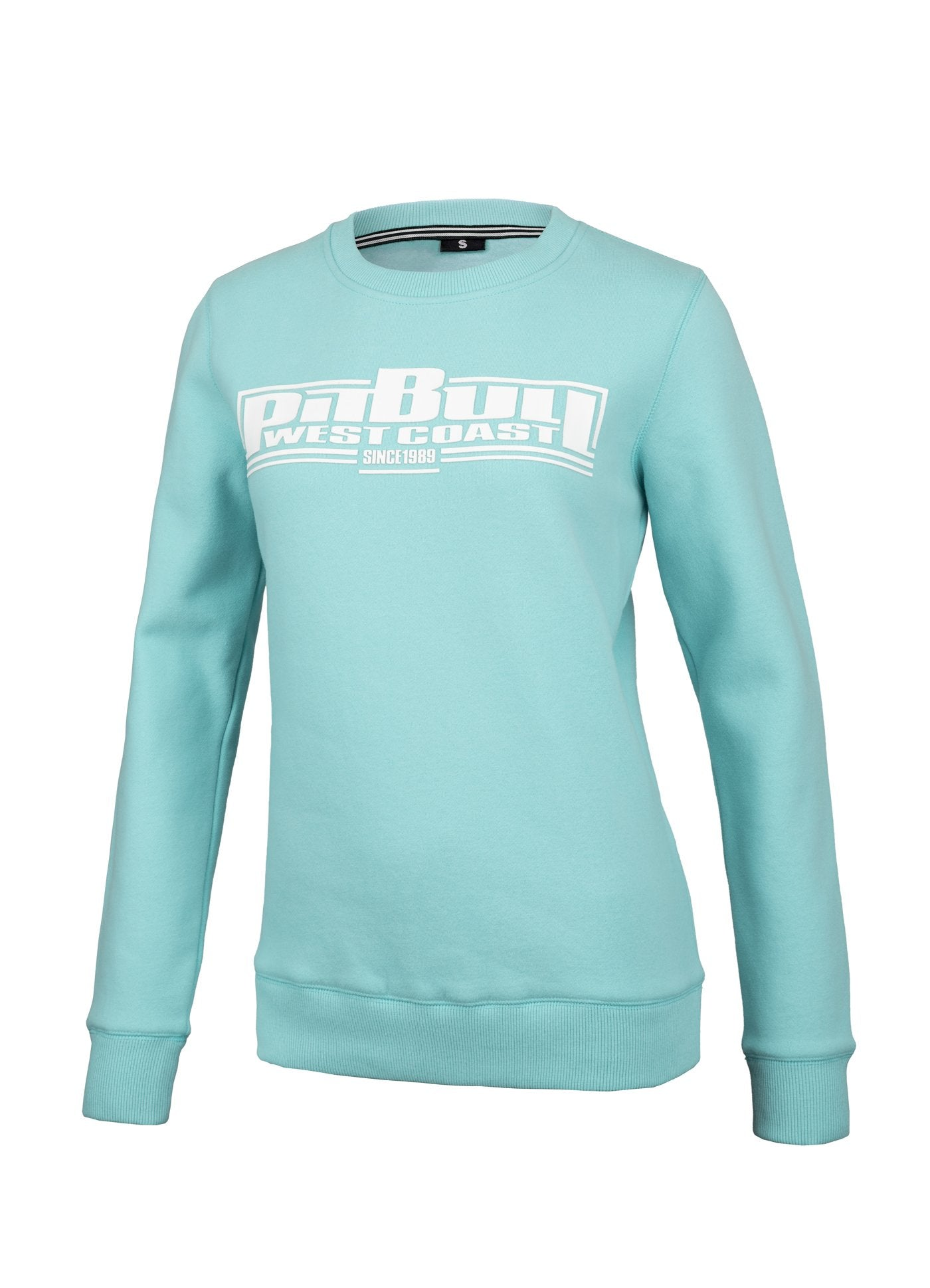 Women Crewneck BOXING Turquoise - Pitbull West Coast U.S.A.