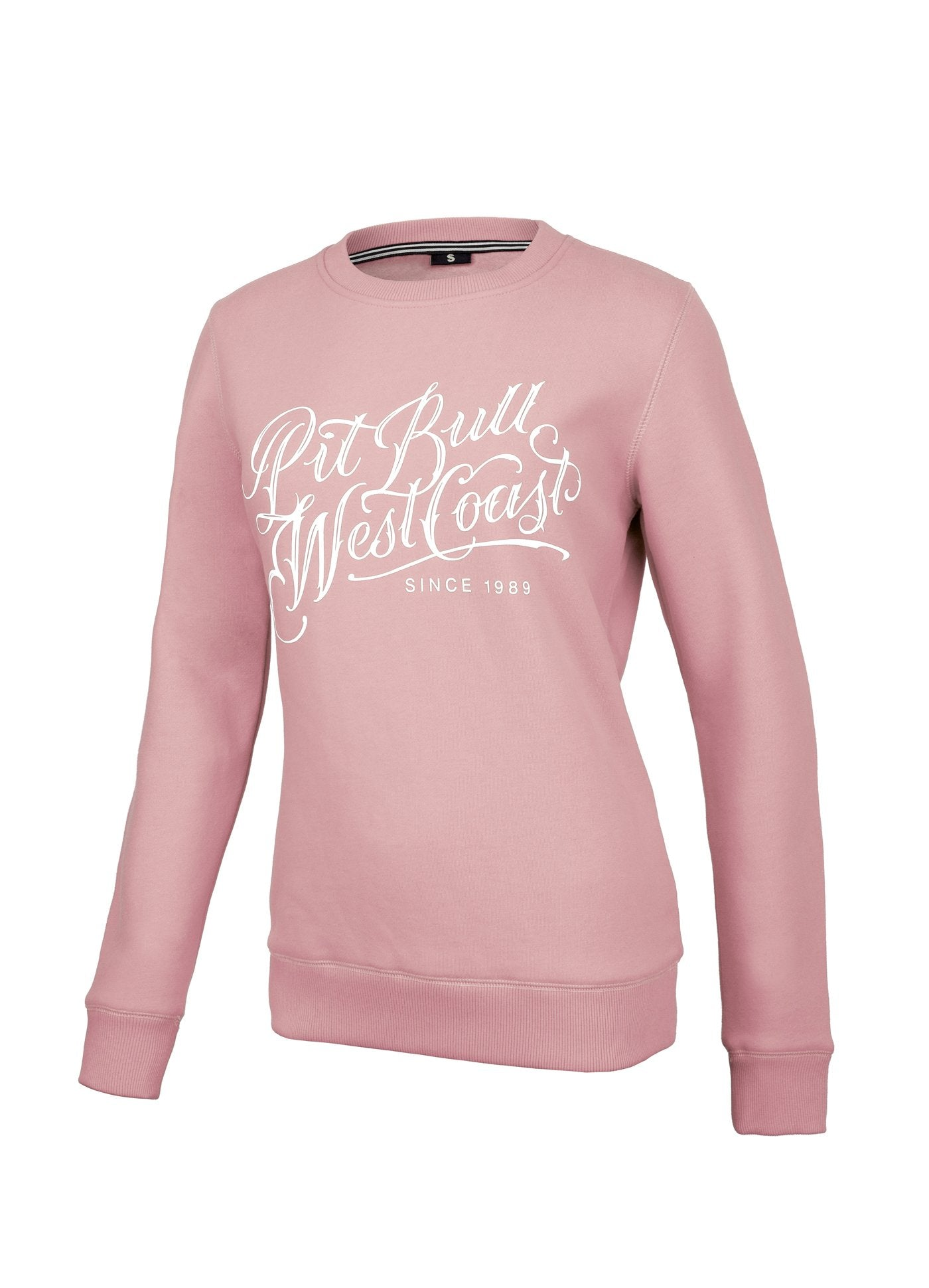 Women Crewneck Blackshaw Pink - Pitbull West Coast U.S.A.