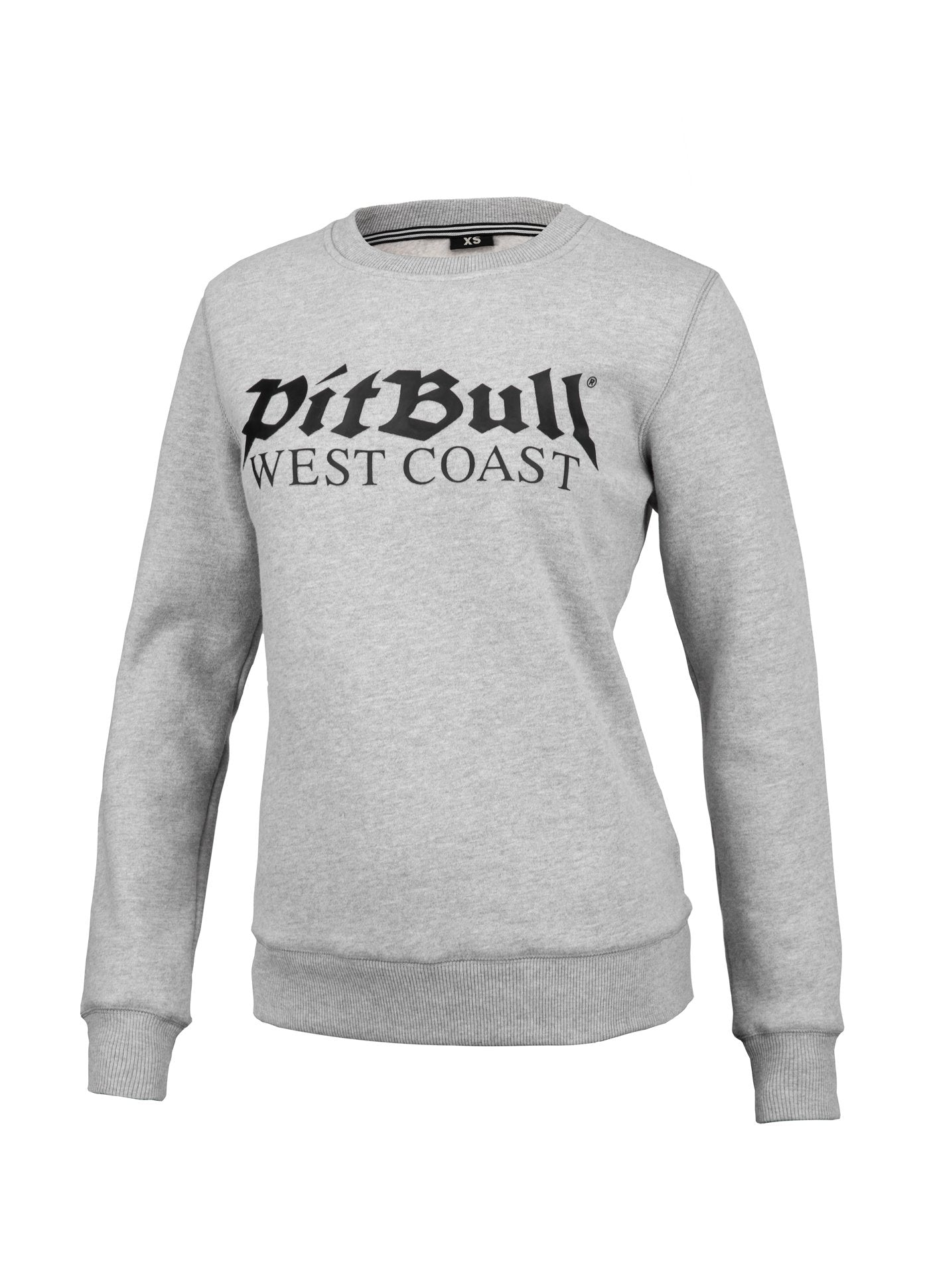 Women OLD LOGO Crewneck Grey MLG - Pitbull West Coast U.S.A.