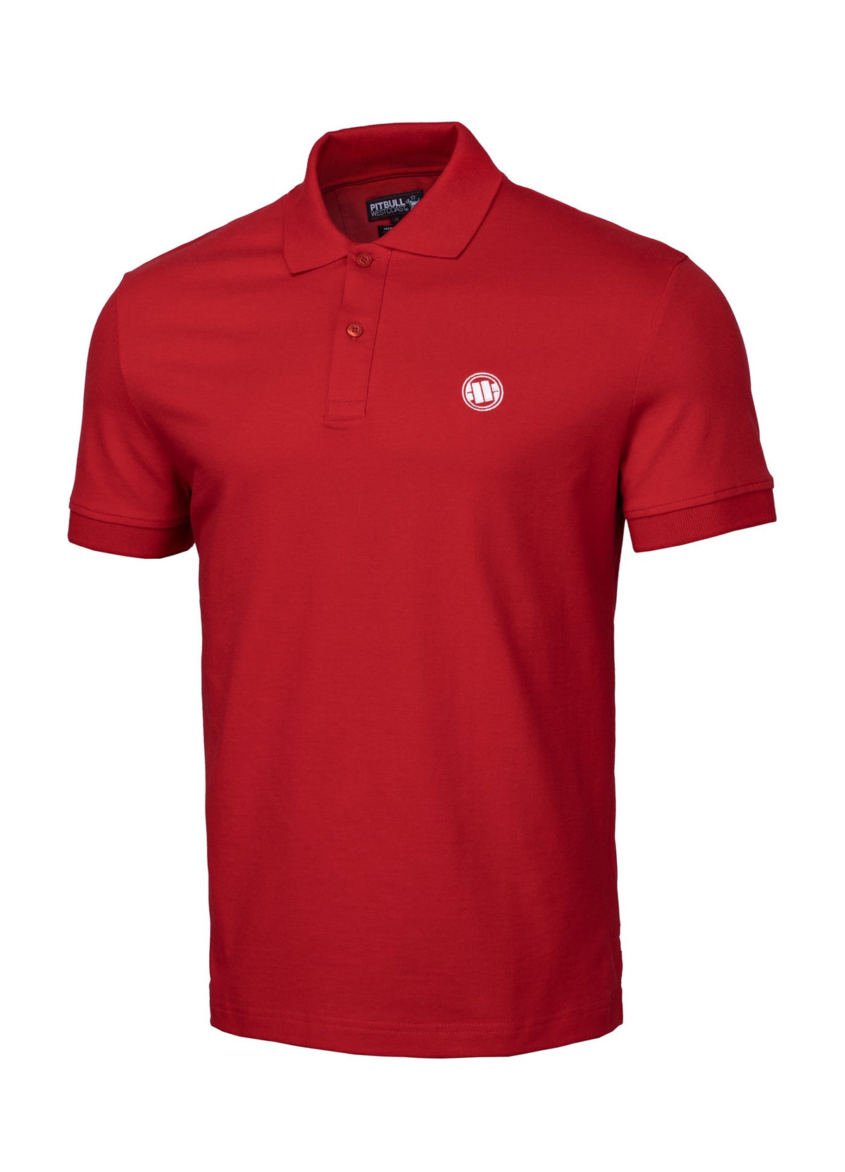 T-shirt POLO REGULAR Red - Pitbull West Coast U.S.A.