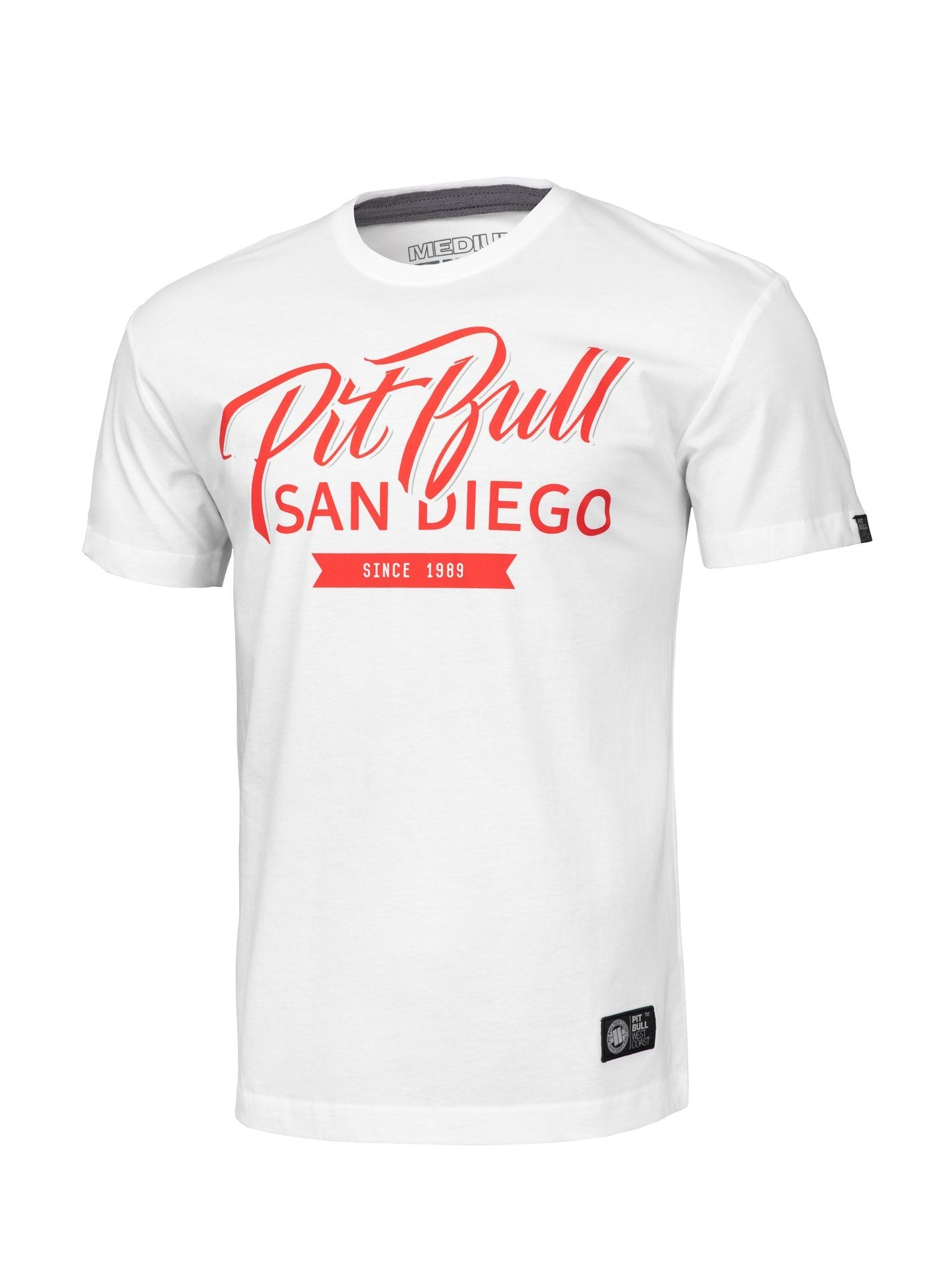T-shirt EL JEFE White - Pitbull West Coast U.S.A.