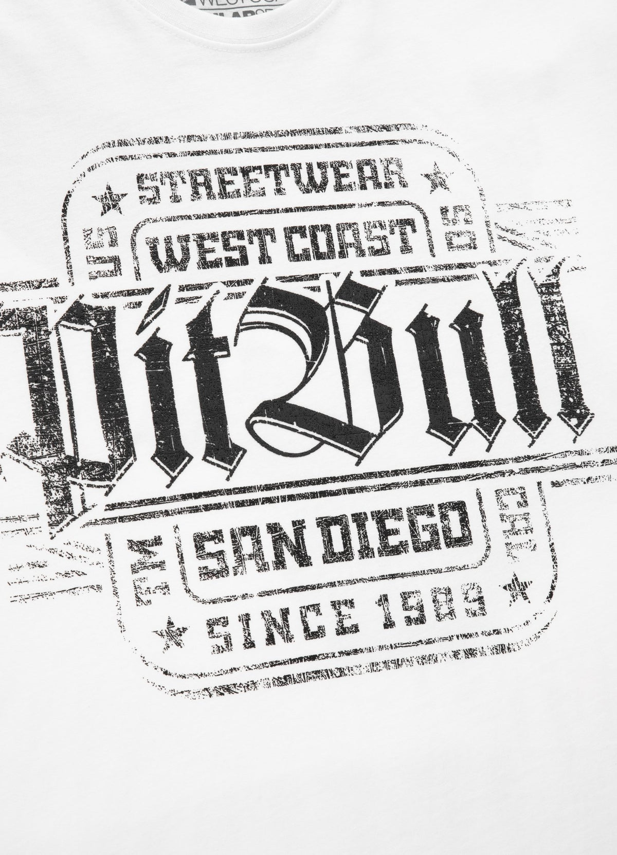 T-shirt SAN DIEGO IV White - Pitbull West Coast U.S.A.