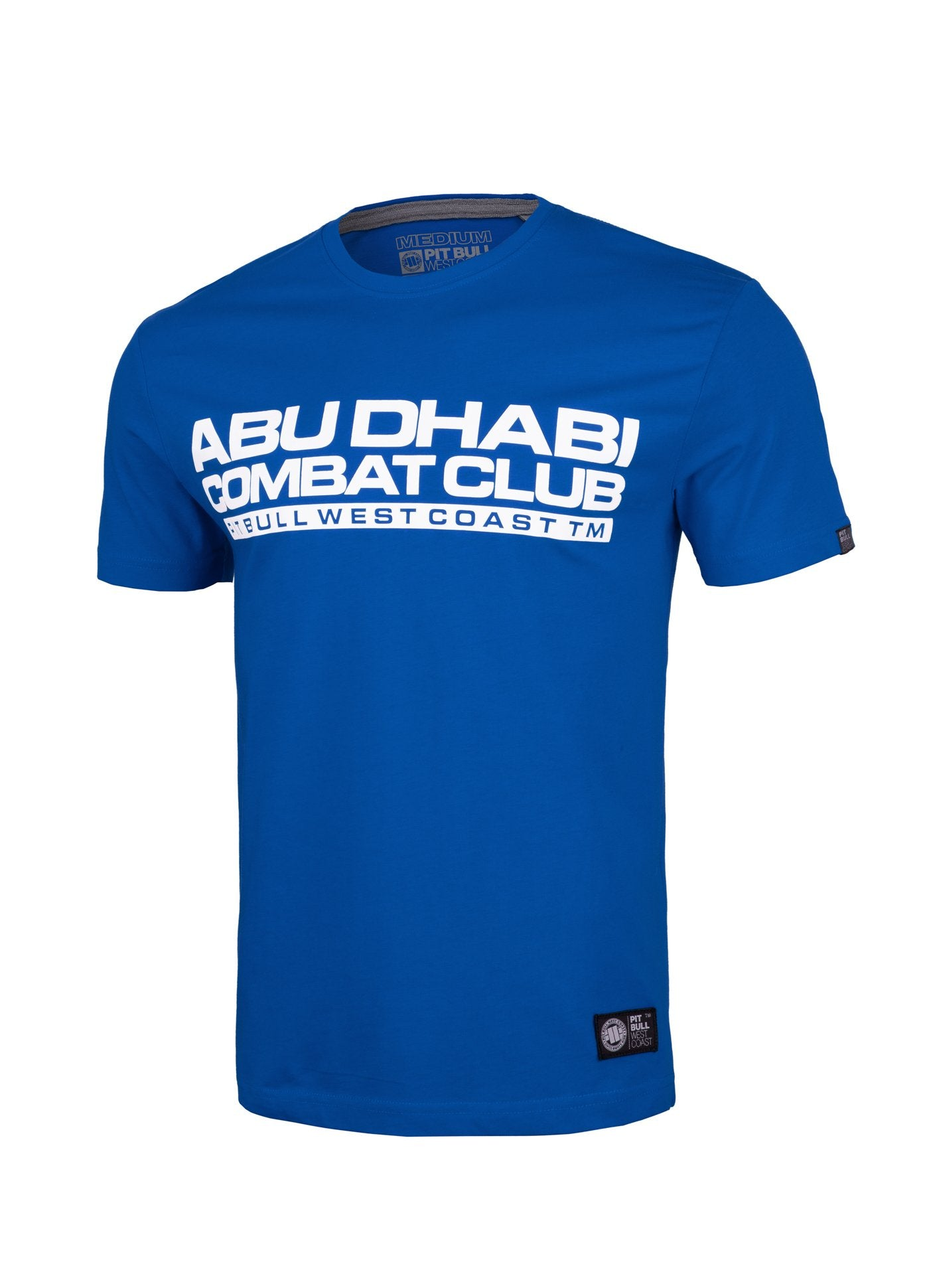 Combat ABU DHABI T-Shirt Royal Blue - Pitbull West Coast U.S.A.