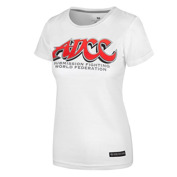 T-SHIRT ADCC ESPOO 2017 WOMAN WHITE - Pitbull West Coast U.S.A.