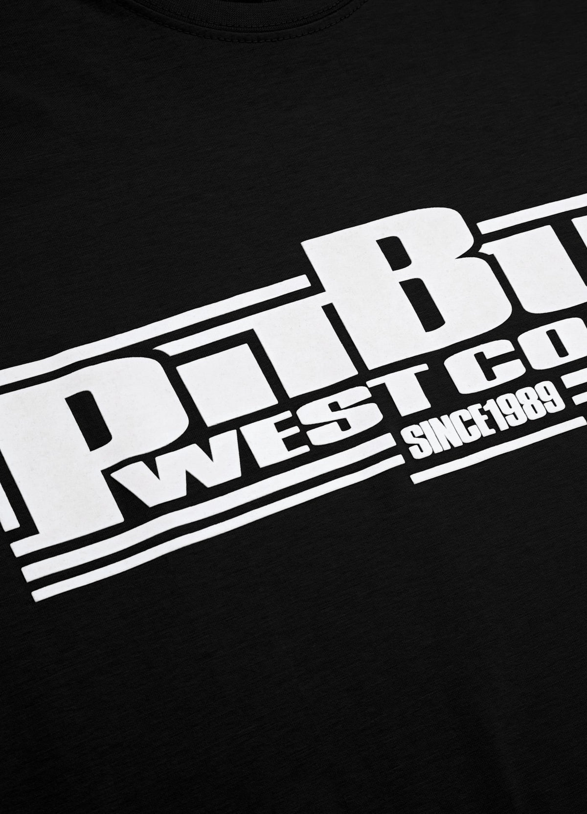 T-shirt CLASSIC BOXING Black - Pitbull West Coast U.S.A.
