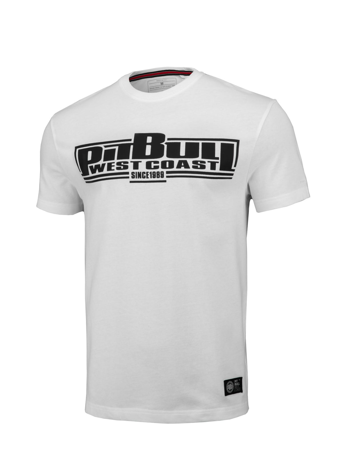 T-shirt Regular Fit Boxing White - Pitbull West Coast U.S.A.