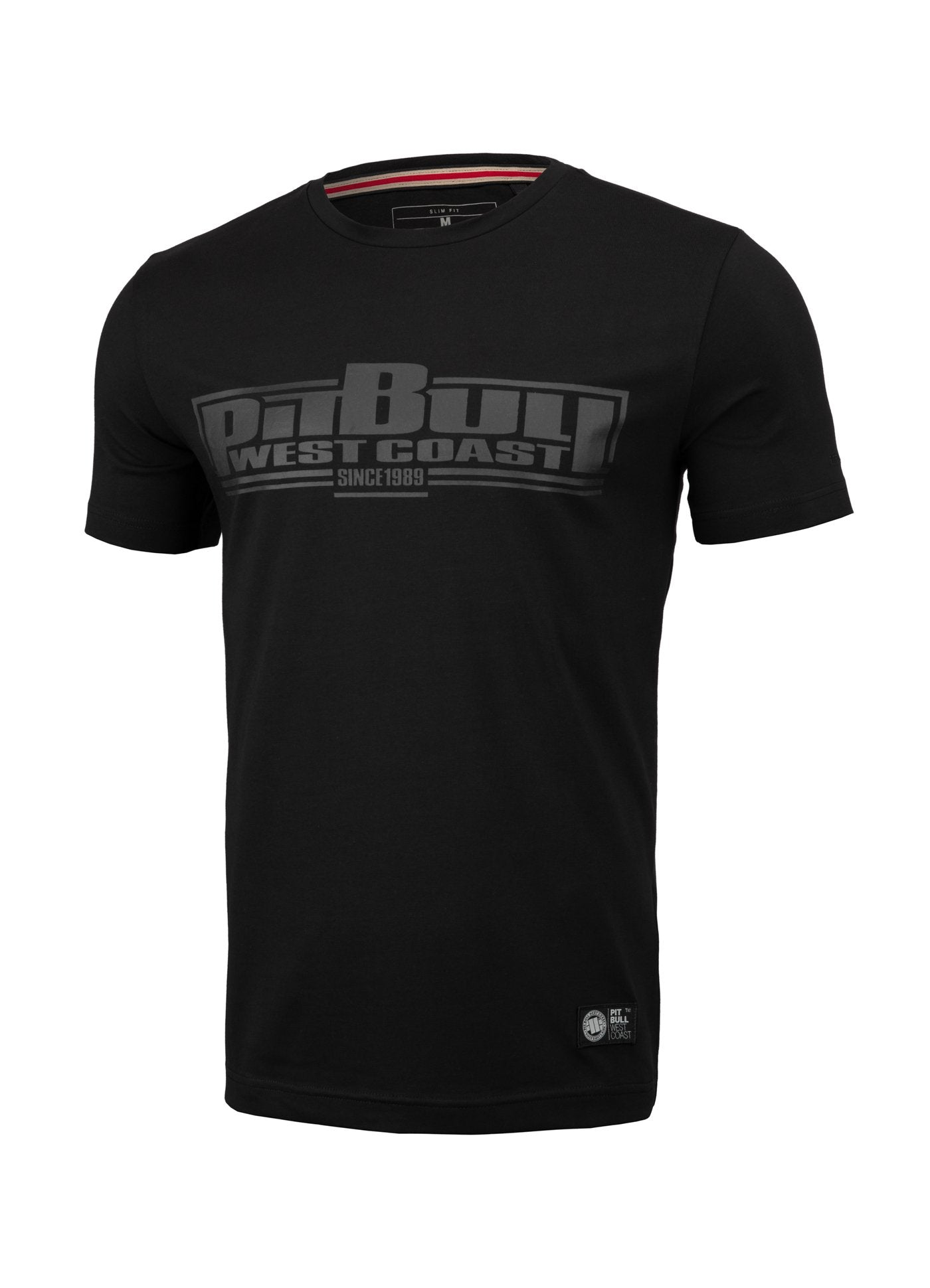 T-shirt Slim Fit Boxing Black - Pitbull West Coast U.S.A.