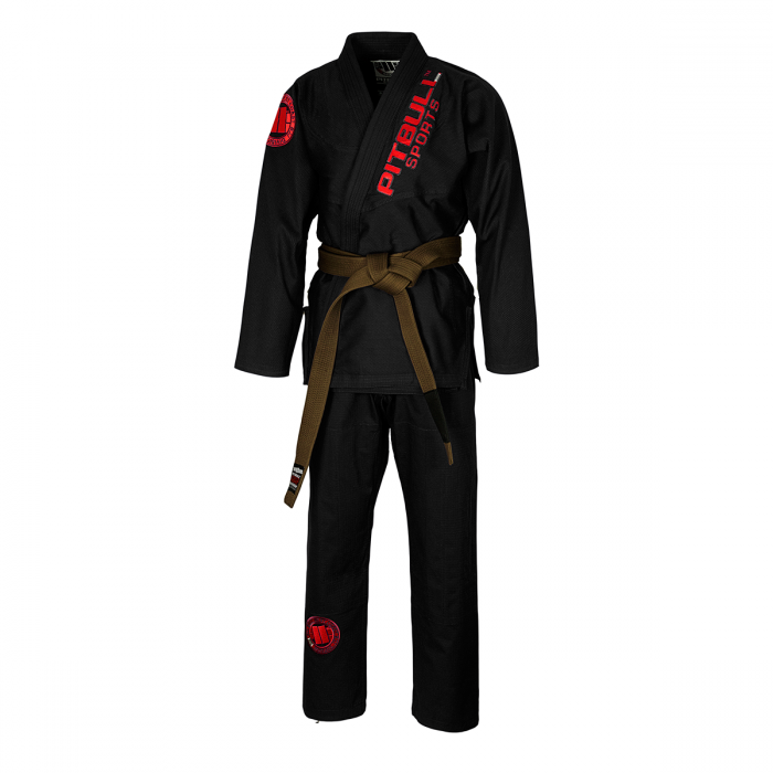 BJJ GI 2017  Black 450 - Pitbull West Coast U.S.A.