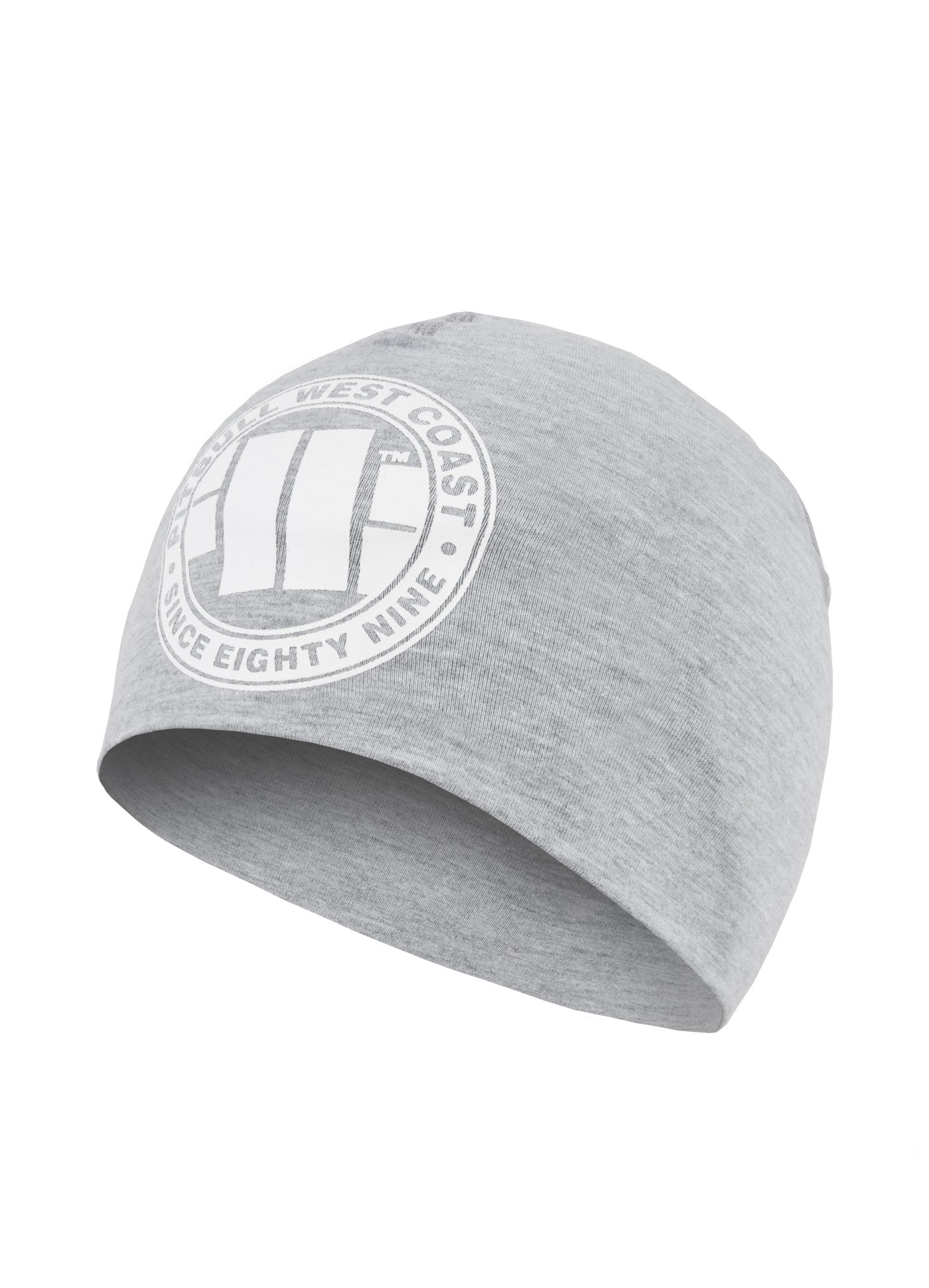 Compression Beanie BIG LOGO Grey - Pitbull West Coast U.S.A.