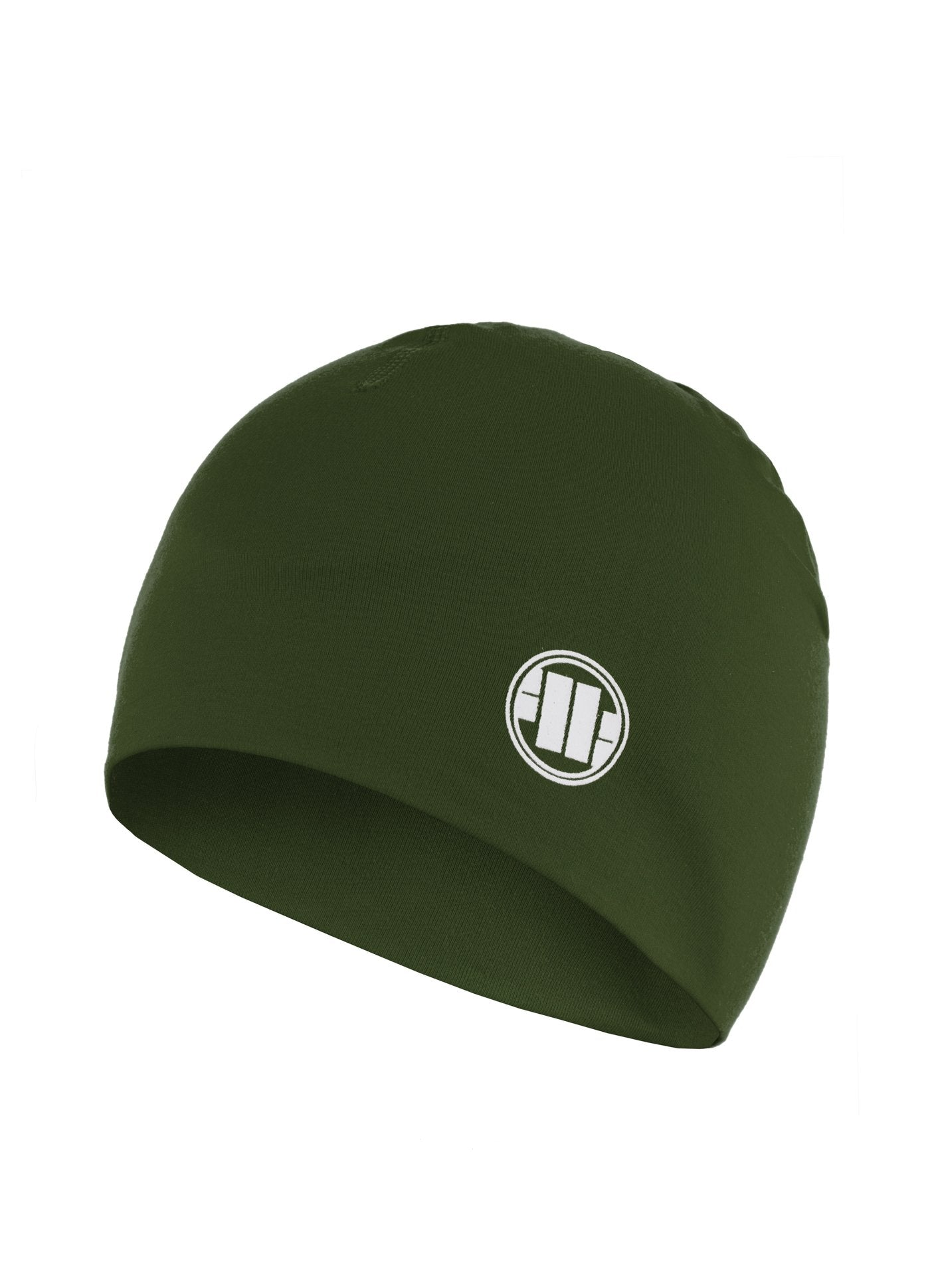 Compression Beanie SMALL LOGO Olive - Pitbull West Coast U.S.A.