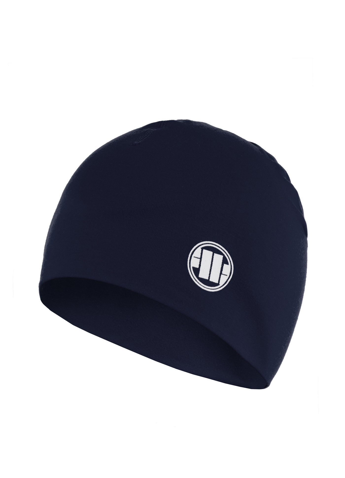 Compression Beanie SMALL LOGO Dark Navy - Pitbull West Coast U.S.A.
