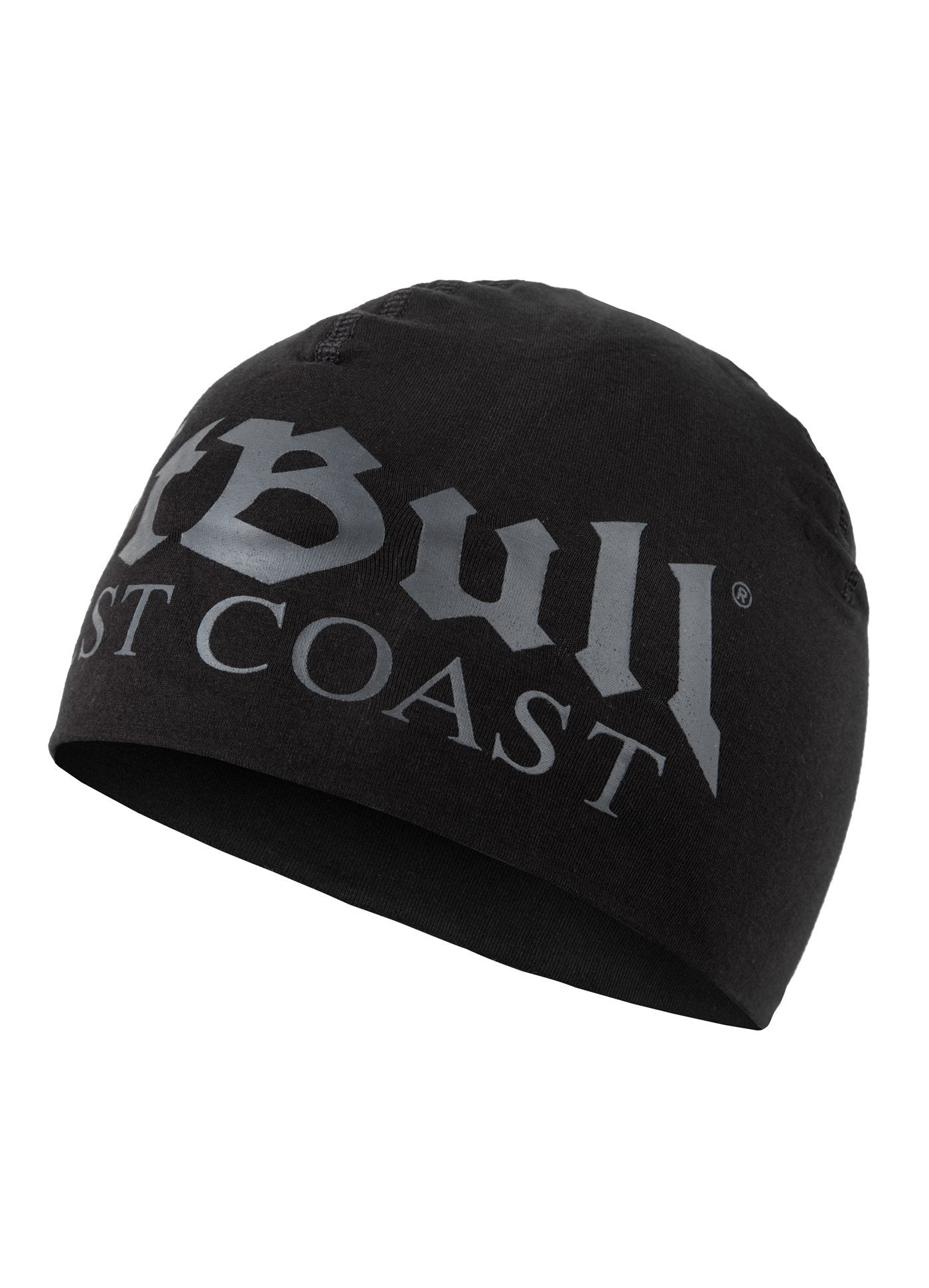 Compression Beanie OLD LOGO Black/Black - Pitbull West Coast U.S.A.