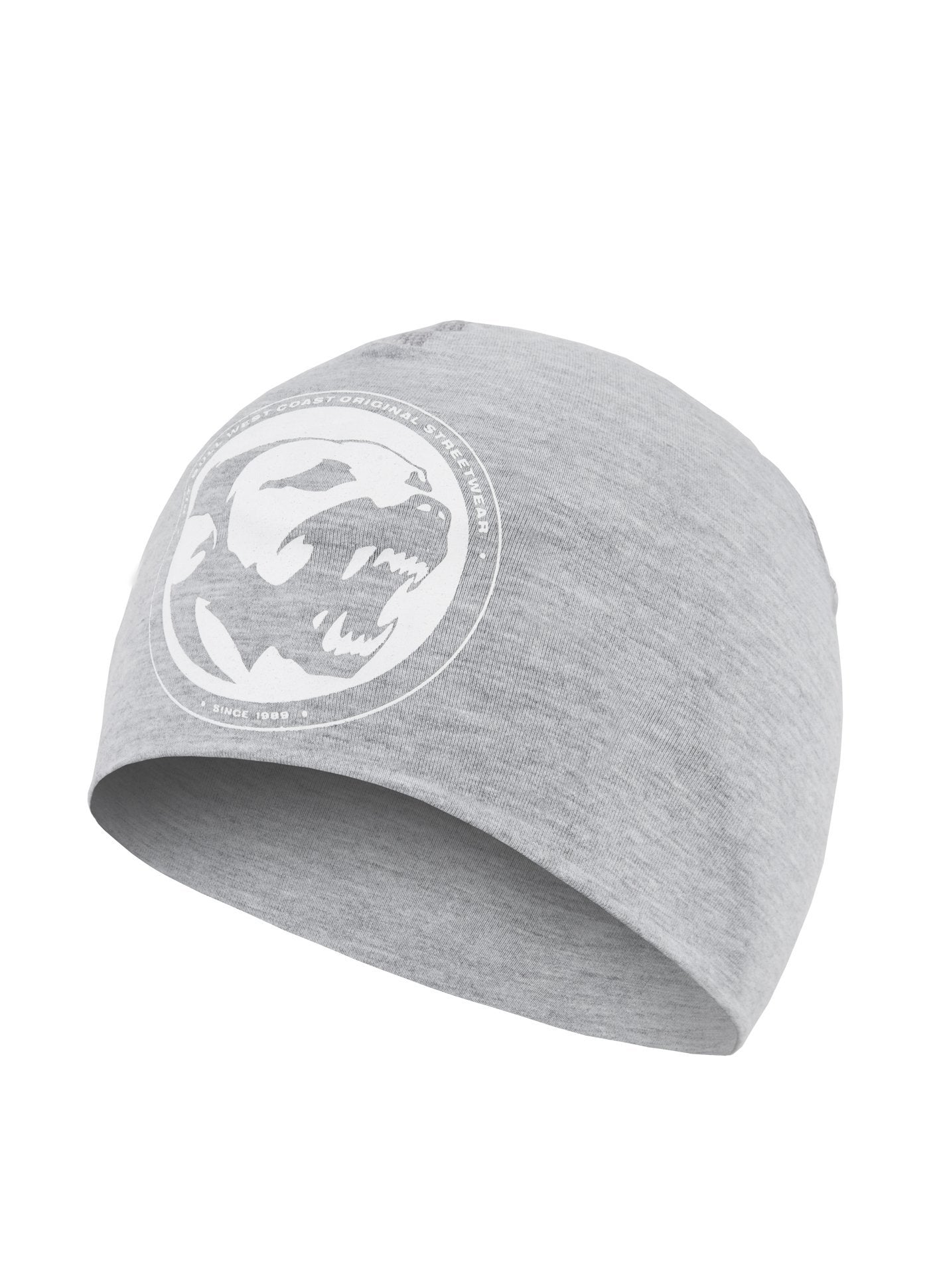 CLASSIC DOG CCOMPRESSION BEANIE GREY MLG - Pitbull West Coast U.S.A.