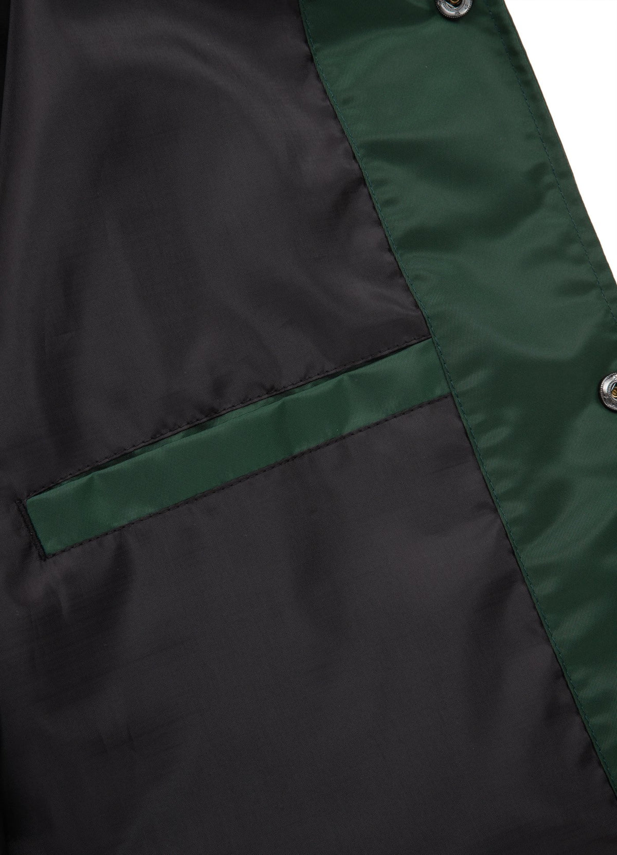 CLANTON Nylon Jacket Dark Green - Pitbull West Coast U.S.A.