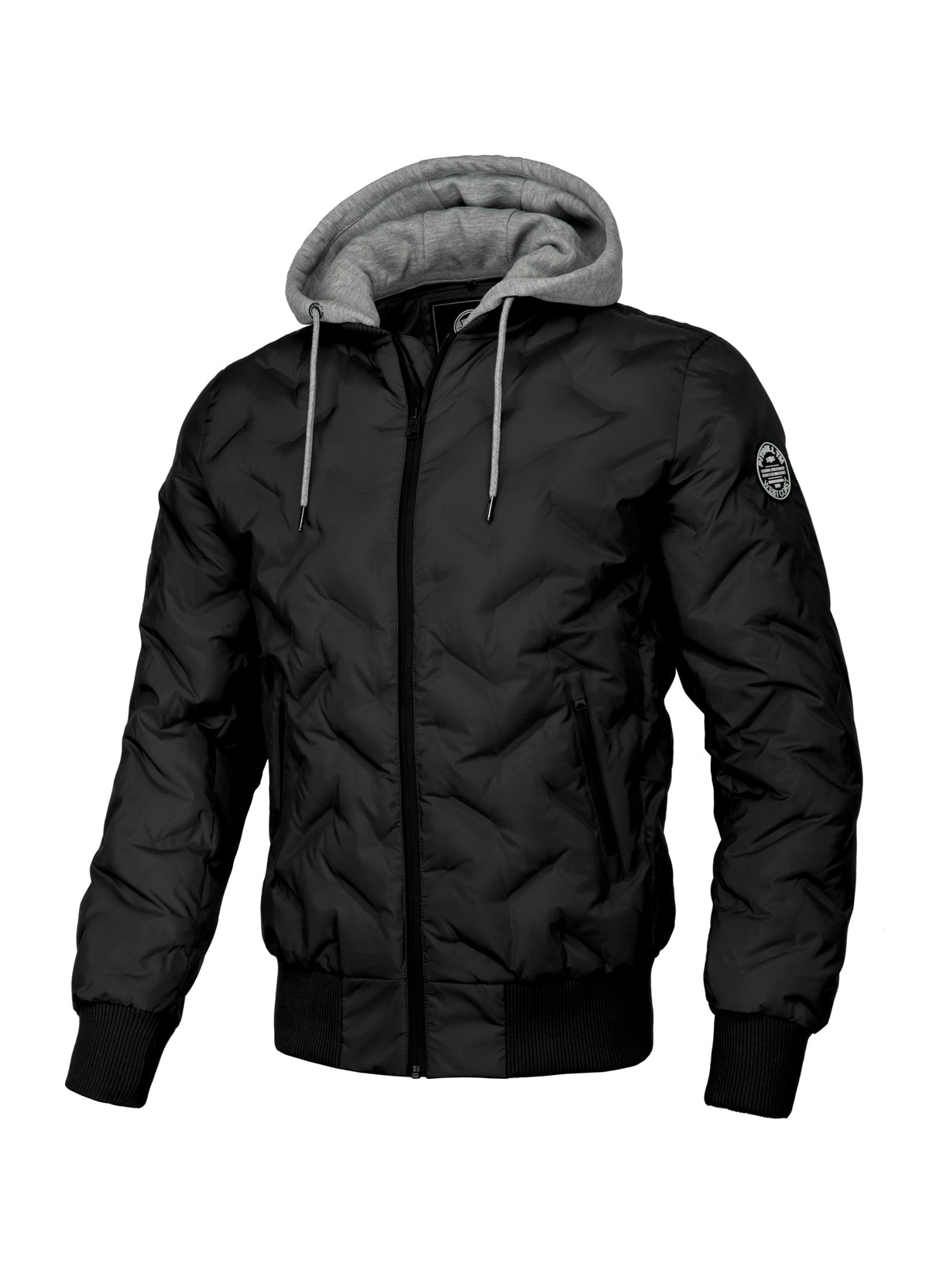 Quilted Jacket WINCHESTER Black - Pitbull West Coast U.S.A.