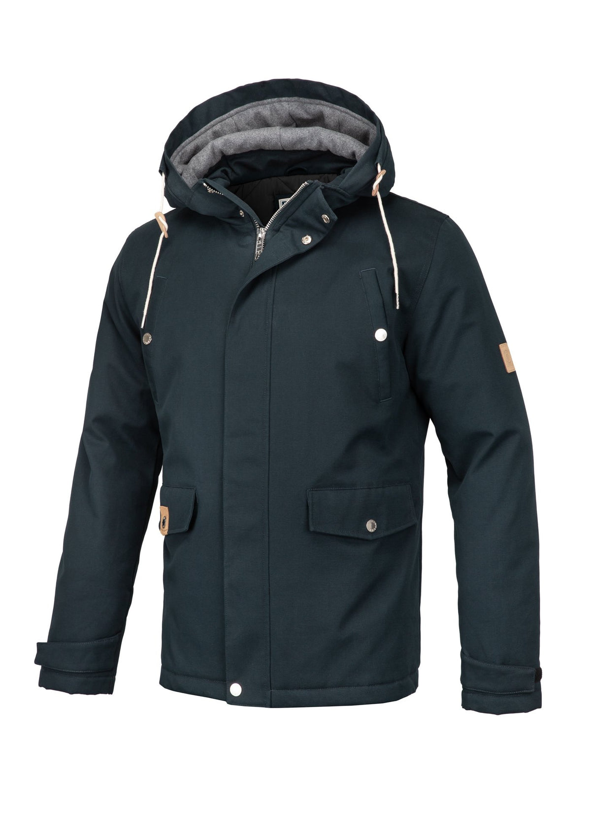 Parka Jacket TOPS Dark Navy - Pitbull West Coast U.S.A.
